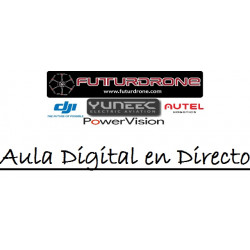 Aula Digital en Directo con Futurdrone