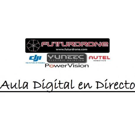 Aula Digital en Directo con Futurdrone