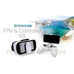 Yuneec BREEZE - Gafas FPV + Emisora Combo