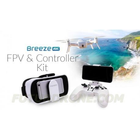 Yuneec BREEZE - FPV Goggles + Gamepad Combo