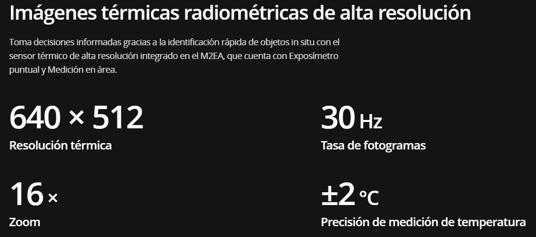 M2EA Cámara Termográfica