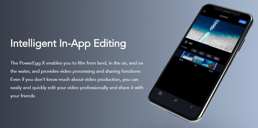 PowerEggX - In-App Editing