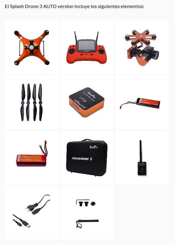 Splas Drone 3 Auto de SwellPro