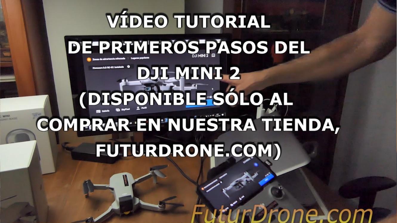 DJI Mini 2 comprar en FuturDrone, Tutorial exclusivo para clientes
