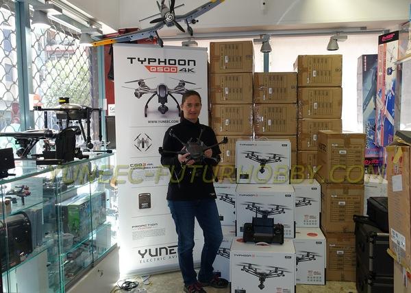 Yuneec Typhoon H venta a tiendas España