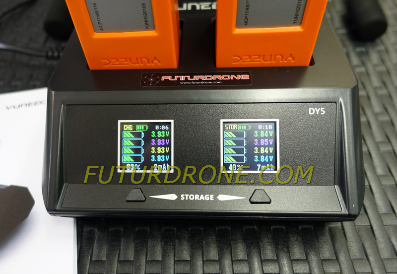 Yuneec DY5, cargador descargador para Yuneec H520