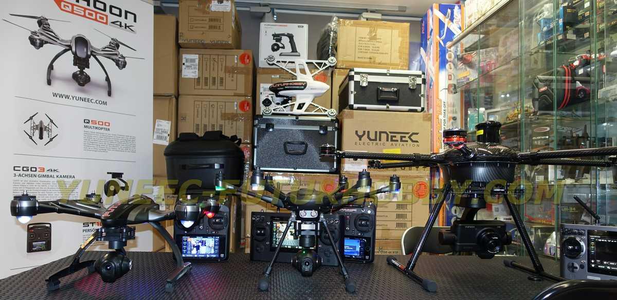 Venta a tiendas Yuneec gama completa