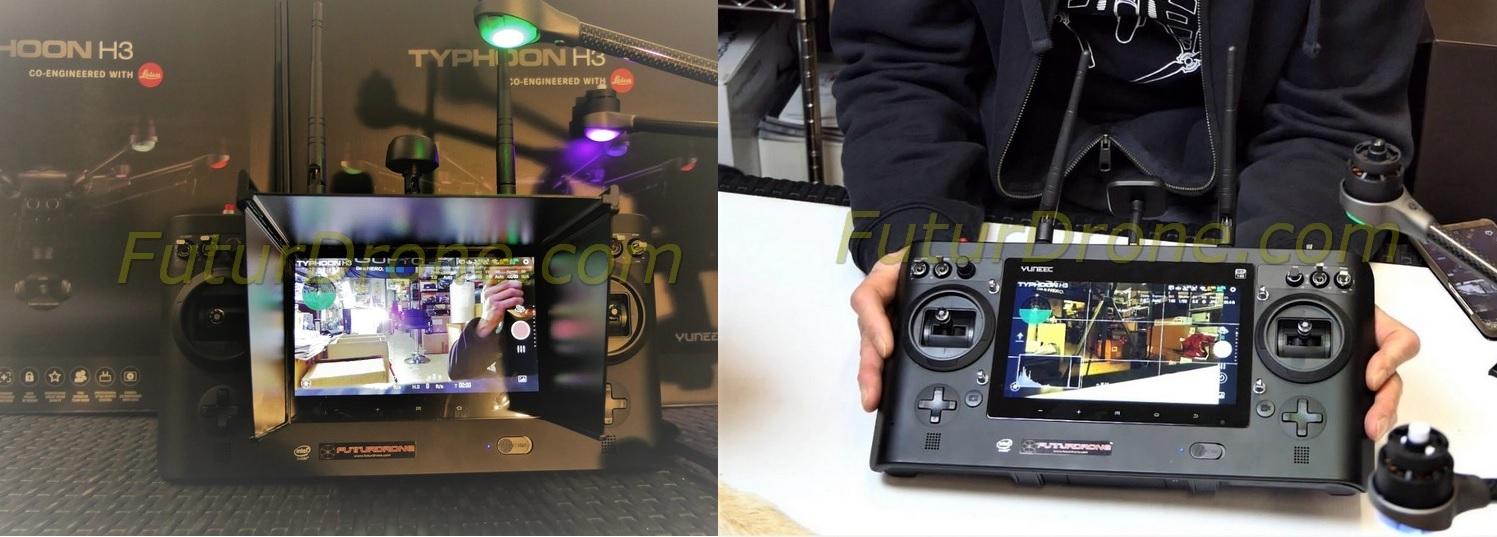 Yuneec Typhoon H3 cámara Leica ION L1 Pro emisora