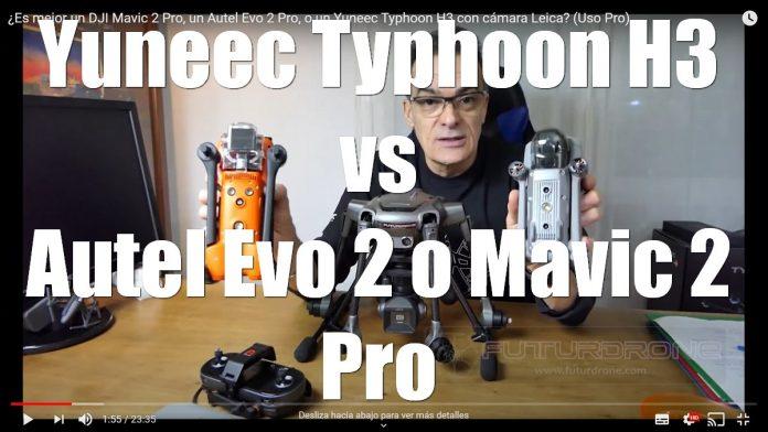 Yuneec Typhoon H3 vs Autel Evos 2 Pro